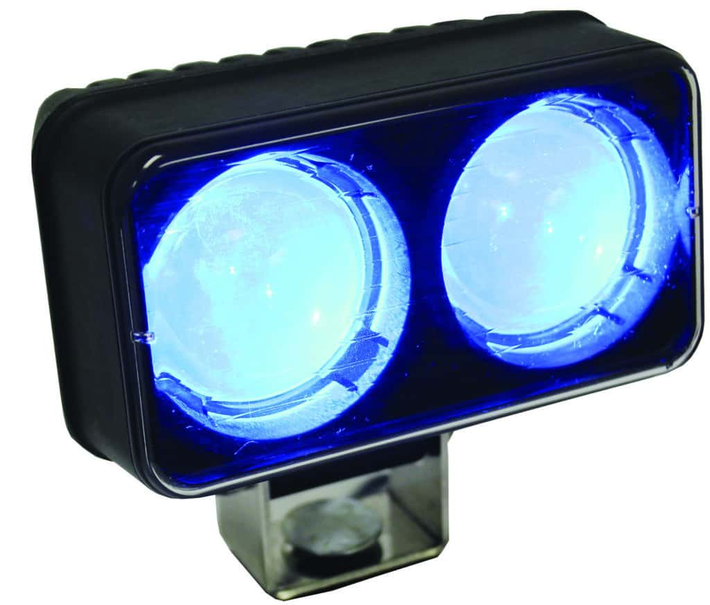 Premium forklift blue lights