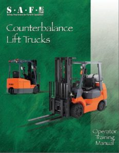 counterbalance lift trucks operator's Manual