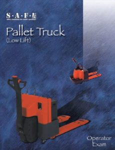 Pallet Truck Operator's exam