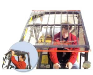 Forklift Operator Comfort and Ergonomics