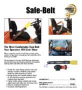 Safe Belt Info Sheet