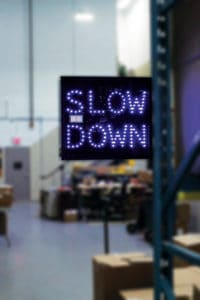 Safe-Speed Radar Warning System