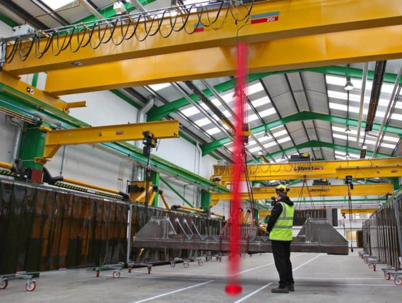 The World S First And Only Overhead Crane Spotlight