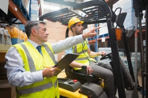 forklift operator training and evaluations