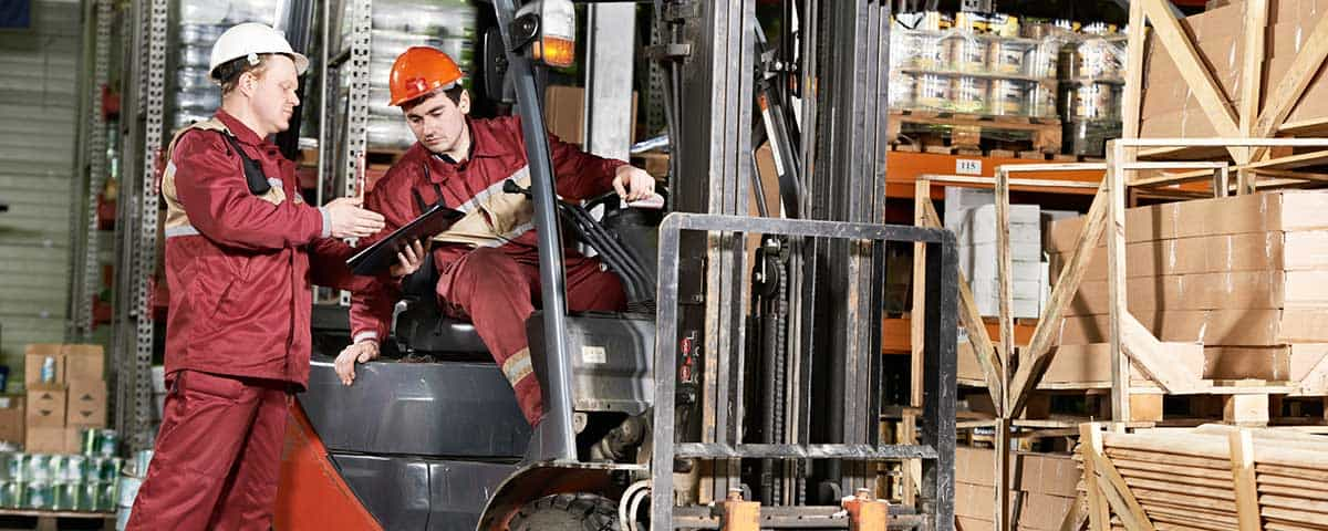 forklift training slider