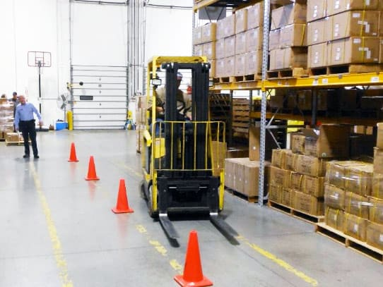 choosing the best forklift training class