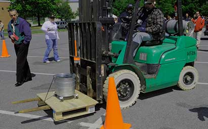 Forklift Training Inspection